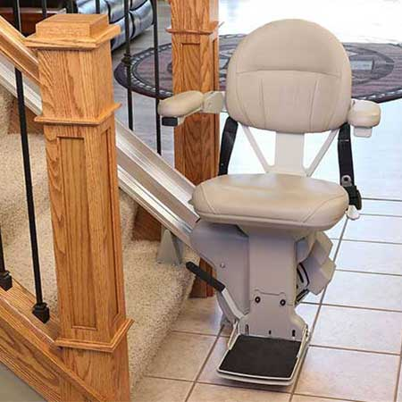 Bruno Elite 400 lb lift capacity | Stairlift Basics | StairliftResearch.com™